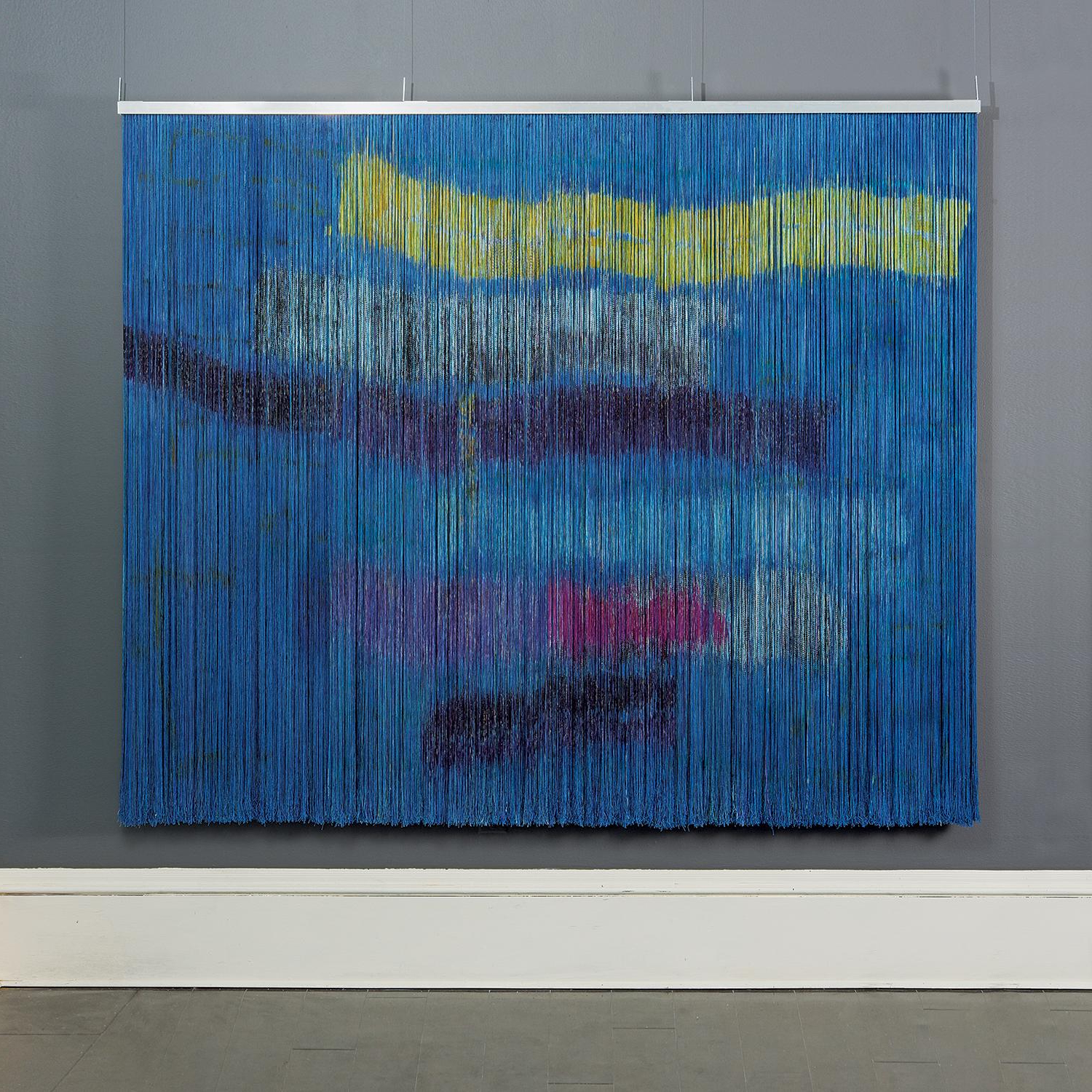 Well Known Biagga (sea Wind), Contemporary Abstract Tapestry Painting, Wall Sculpture Pertaining To Blended Fabric Breeze Of Admiration Woven Tapestries (View 19 of 20)