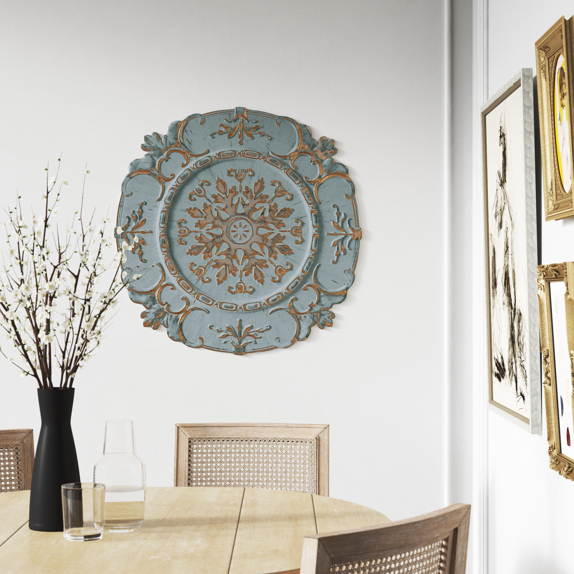 Well Known European Medallion Wall Décor With Kelly Clarkson Home European Medallion Wall Décor & Reviews (View 3 of 20)