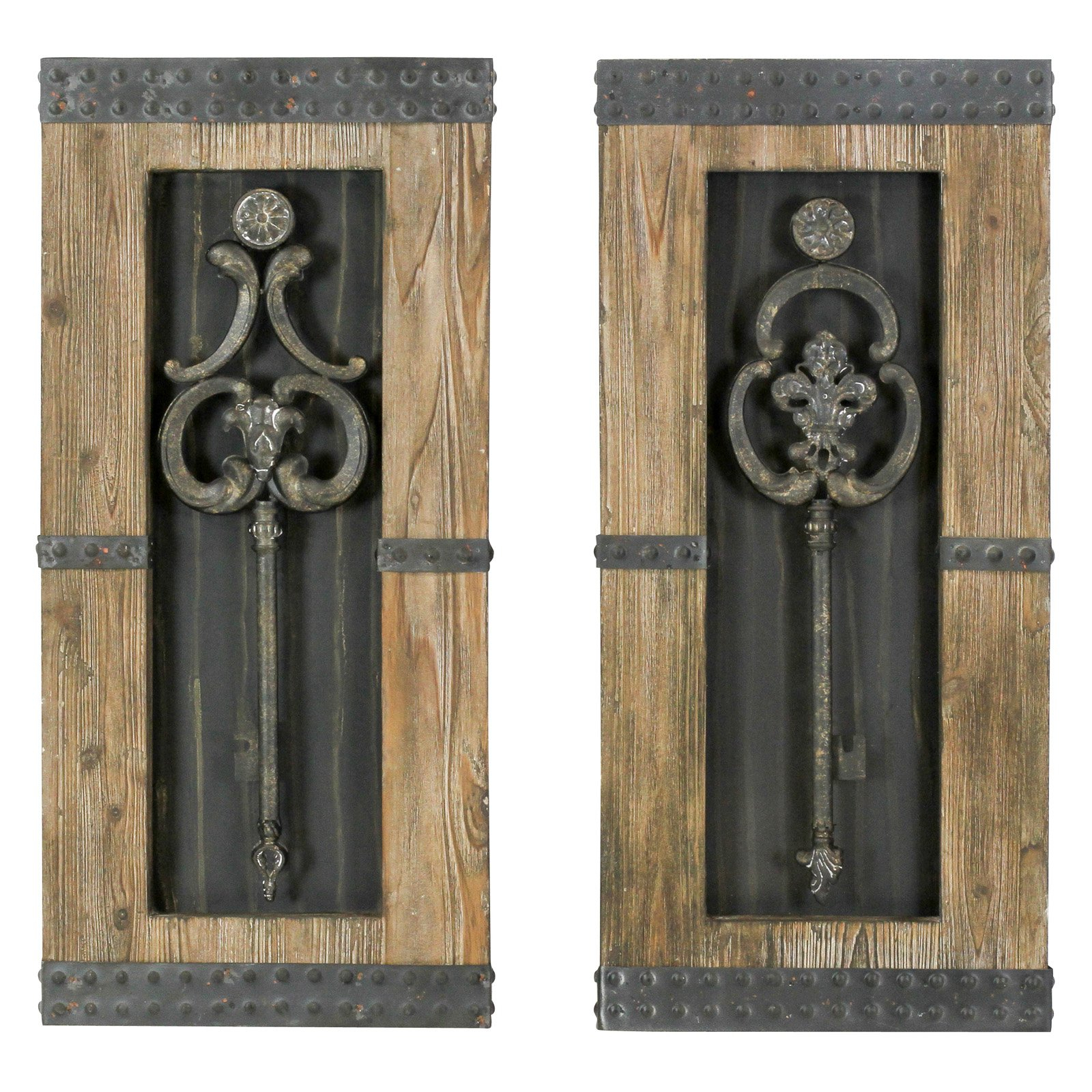 Featured Photo of Key Wall Décor (Set Of 2)