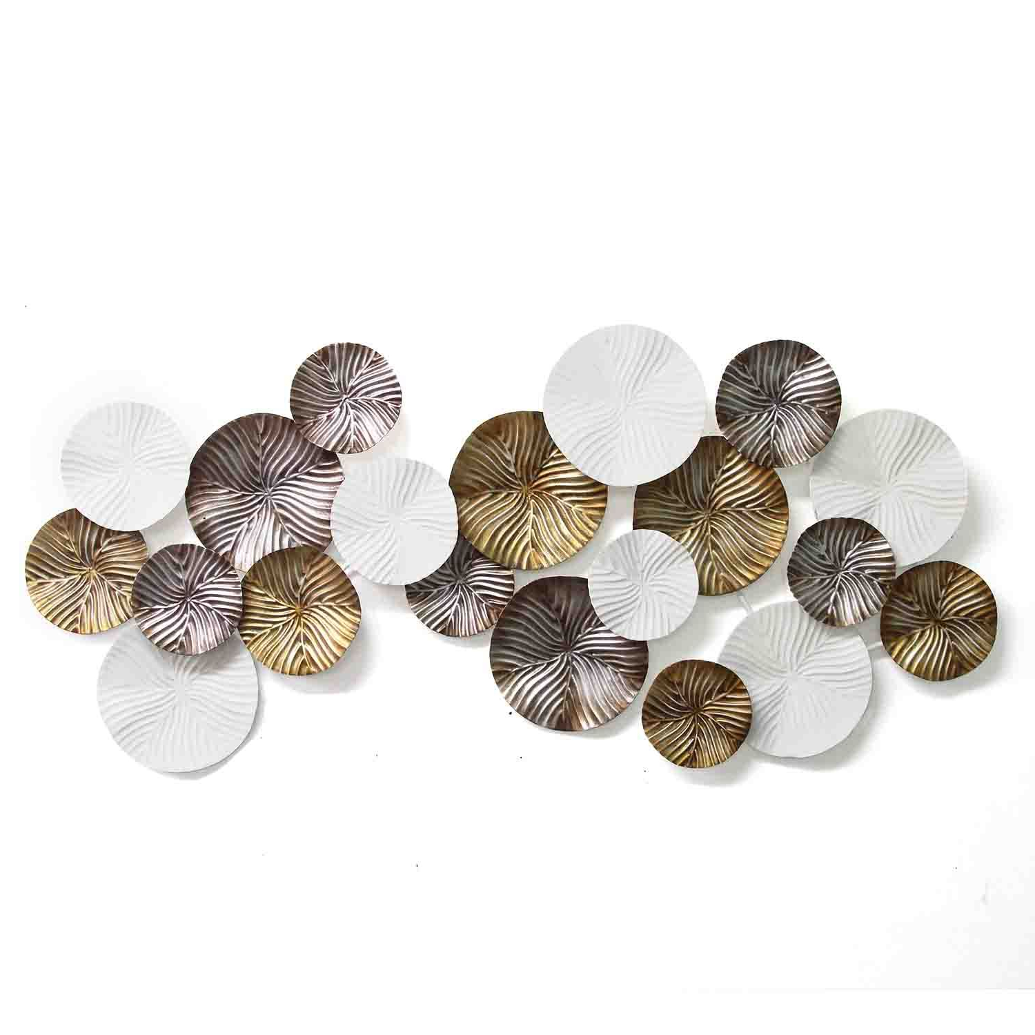 Well Known Stratton Home Decor Claudette Modern Wall Decor – Walmart Within Rings Wall Décor By Stratton Home Decor (View 11 of 20)