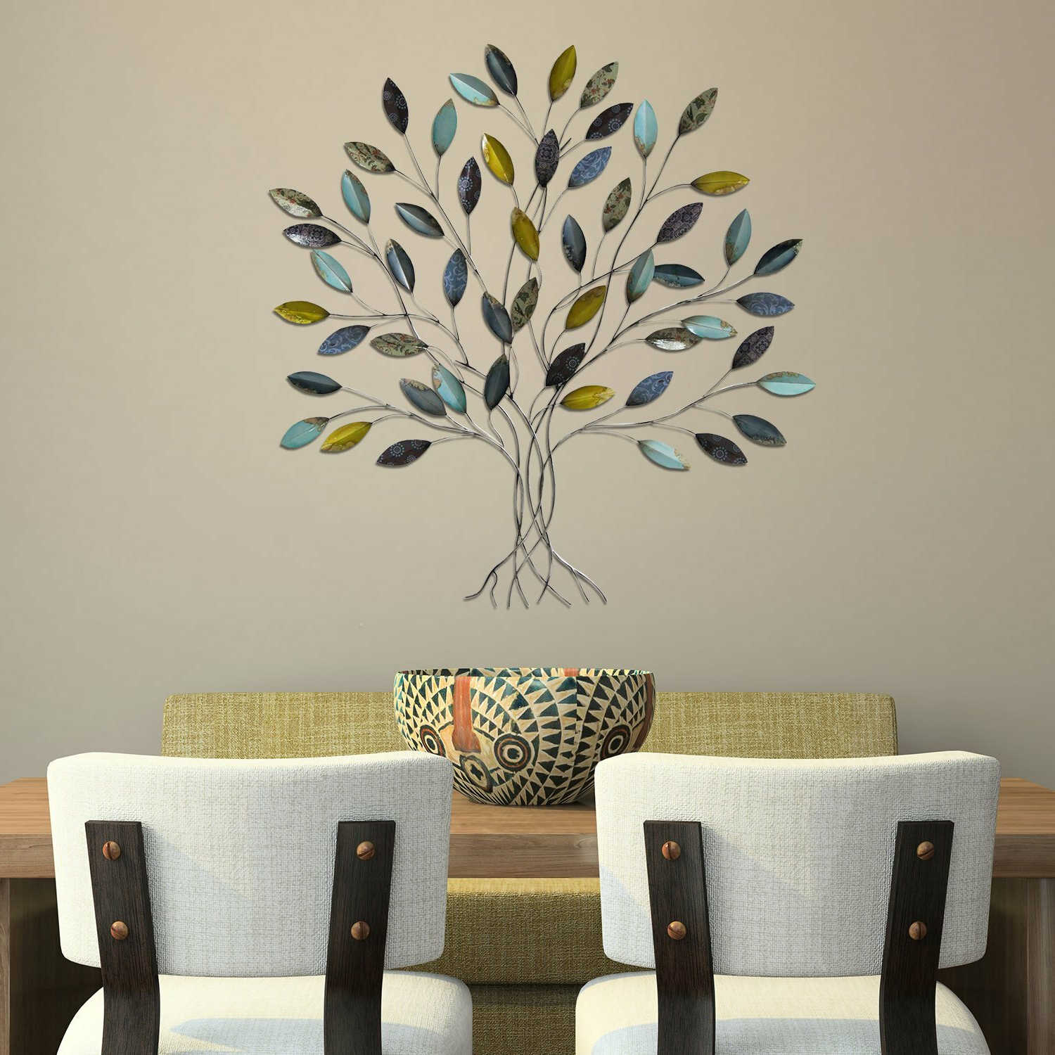 Featured Photo of Abstract Tree Wall Décor By Winston Porter