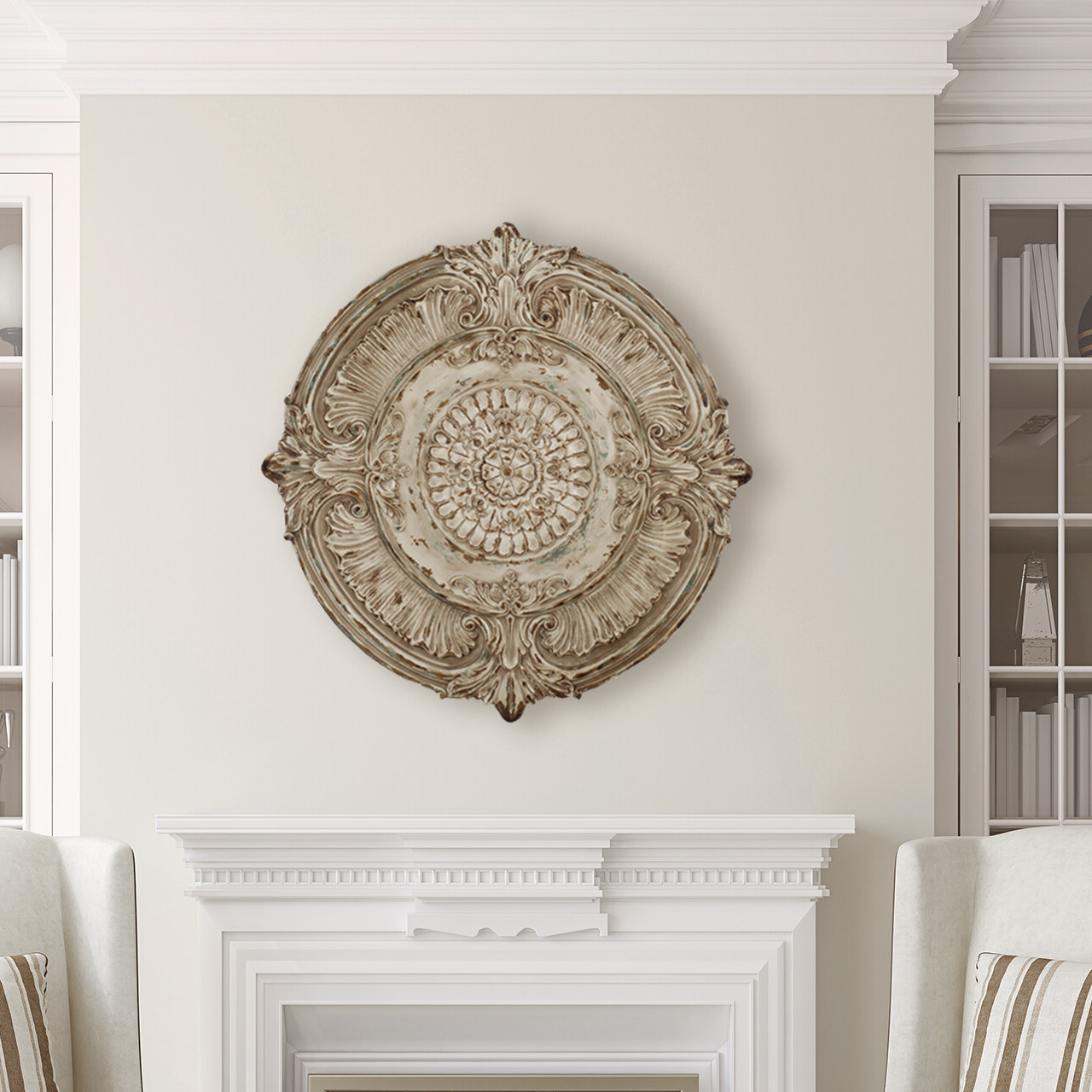 Well Liked Arch Wall Décor By One Allium Way For Medallion Wall Décor (View 11 of 20)
