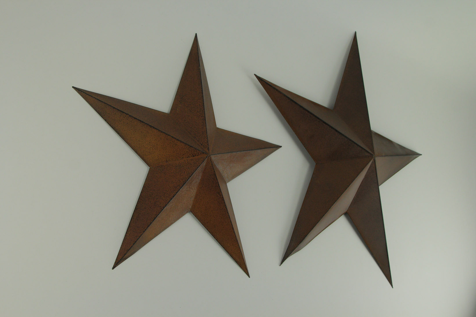 Featured Photo of Barn Star Wall Décor (Set Of 2)