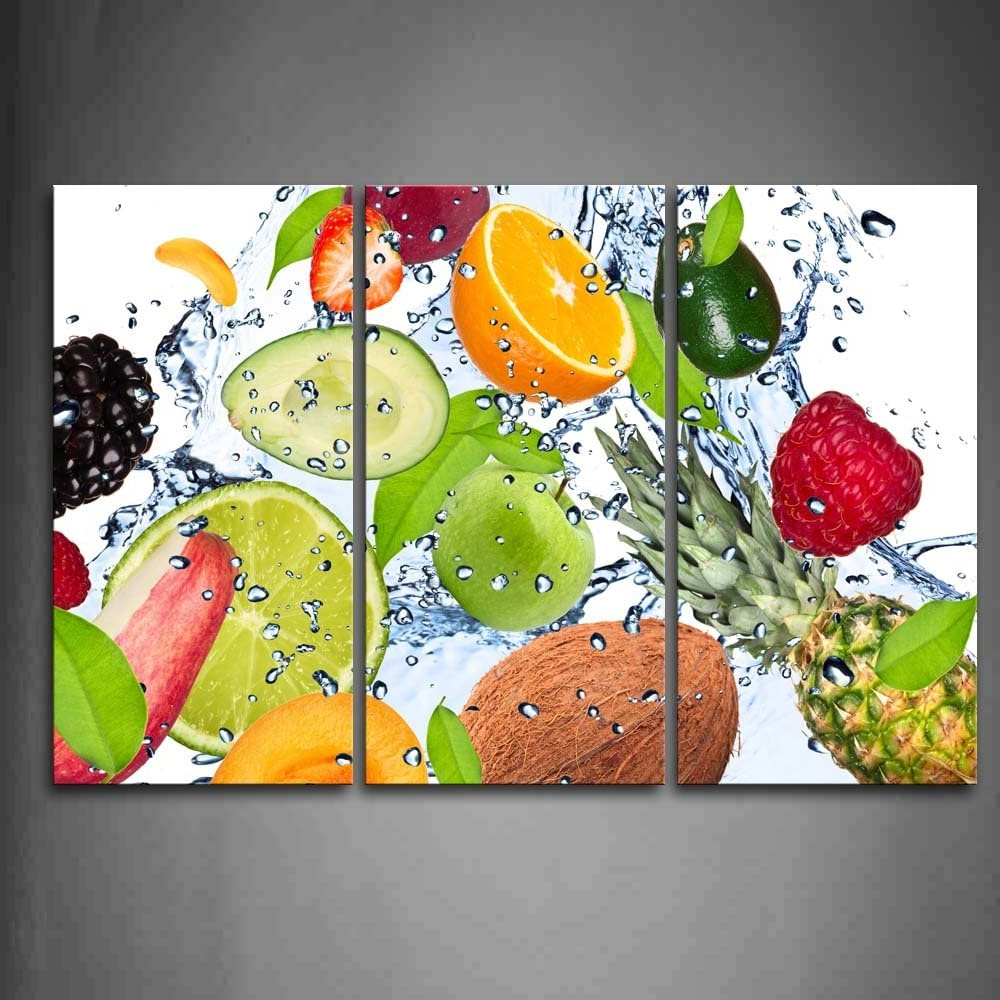 Featured Photo of Blended Fabric Fruity Bouquets Wall Hangings