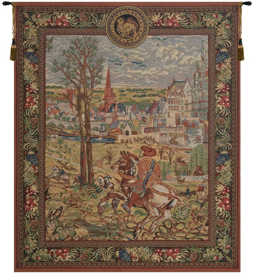Widely Used Blended Fabric Vieux Brussels Wall Hangings Throughout Amazon: Charlotte Home Furnishings Inc (View 2 of 20)