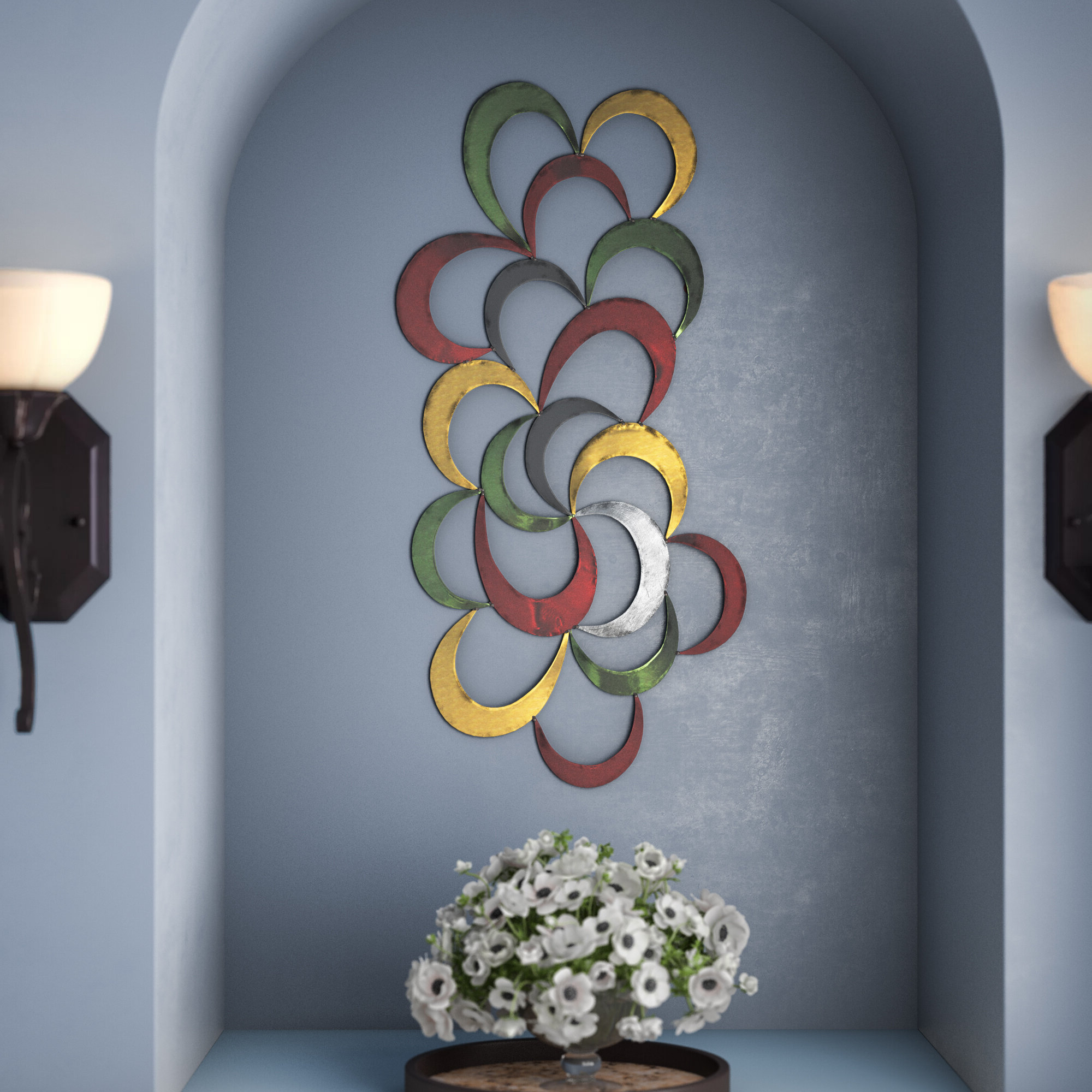 Widely Used Contemporary Abstract Iron Wall Décor Regarding Abstract Tree Wall Décor By Winston Porter (View 20 of 20)