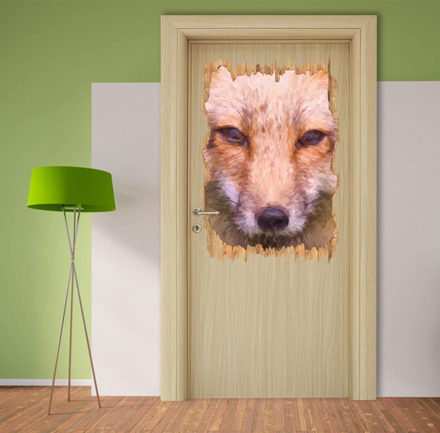 Widely Used Graceful Over The Door Wall Décor In Graceful Cunning Fox In The Wood Portrait Breakthrough In 3d (View 8 of 20)