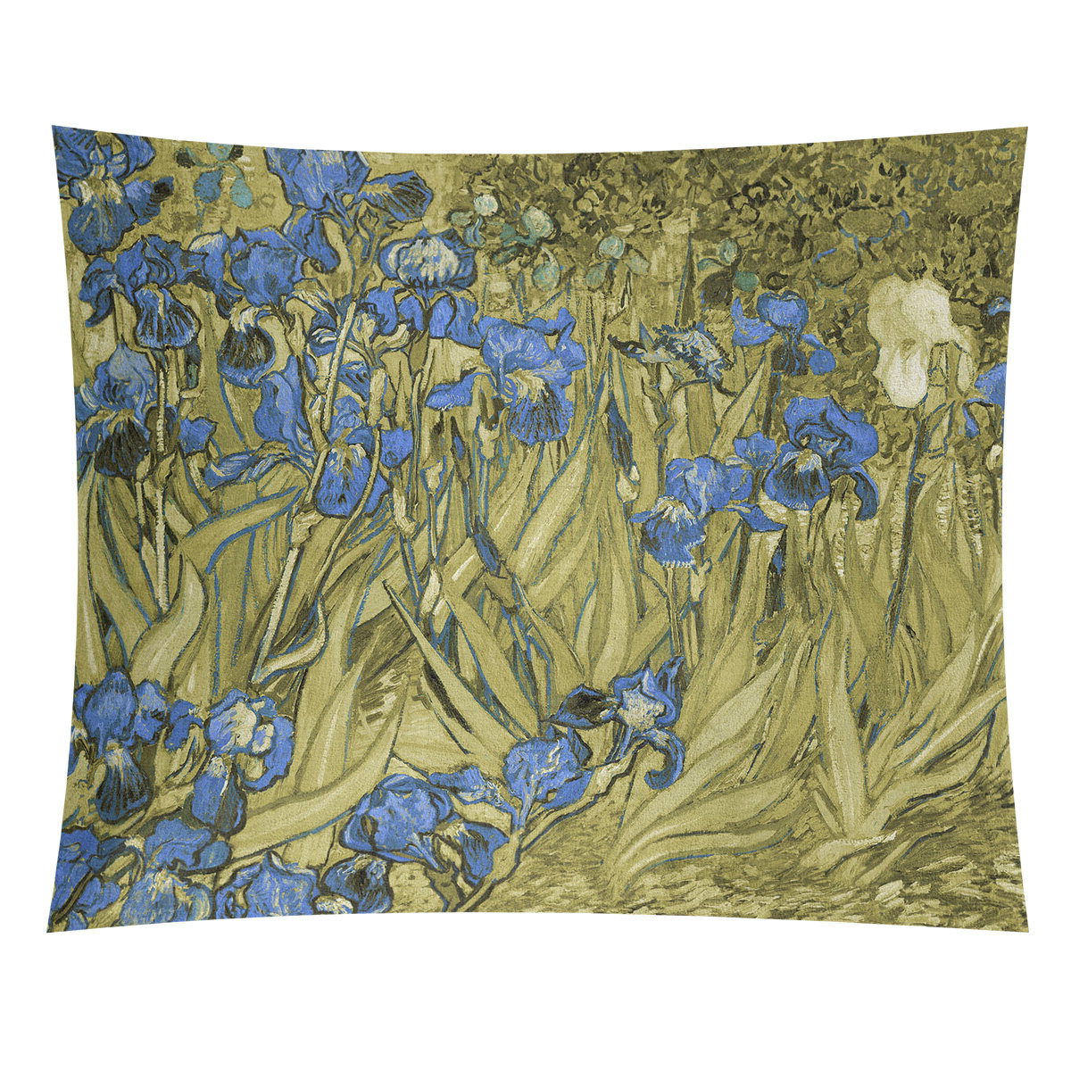 Widely Used Irises Tapestry With Regard To Blended Fabric Irises Tapestries (View 17 of 20)