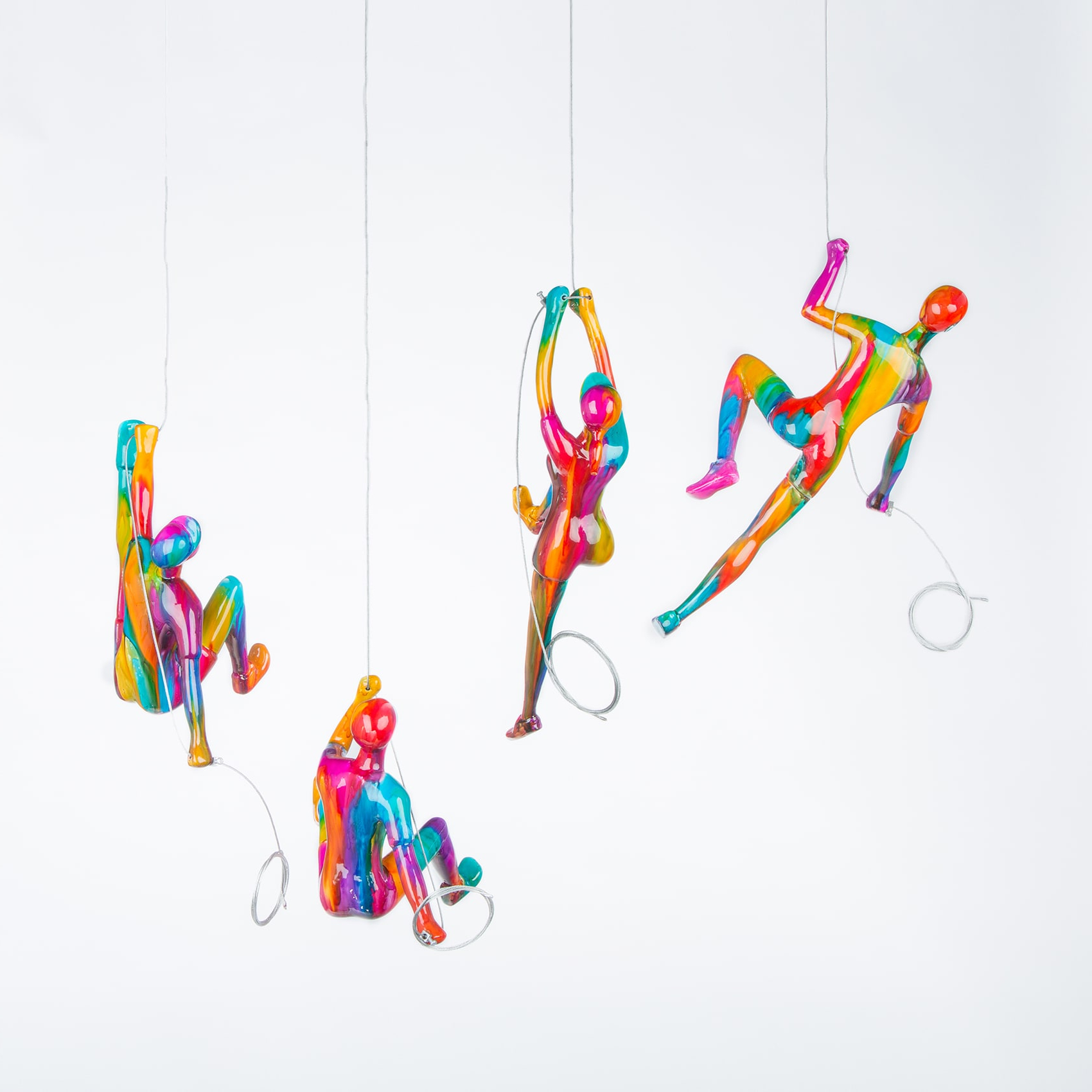 Widely Used Latitude Run 4 Piece Climber Sculpture Wall Decor Set For Wall Décor By Latitude Run (View 9 of 20)
