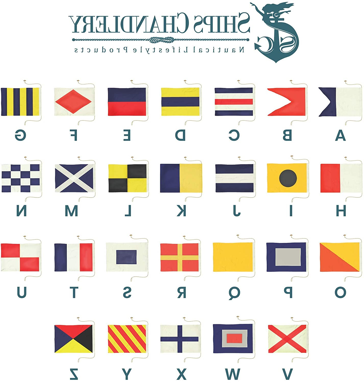 Widely Used Letter Wooden Nautical Alphabet Flag Wall Décor For Ships Chandlery Nautical Flags (View 2 of 20)