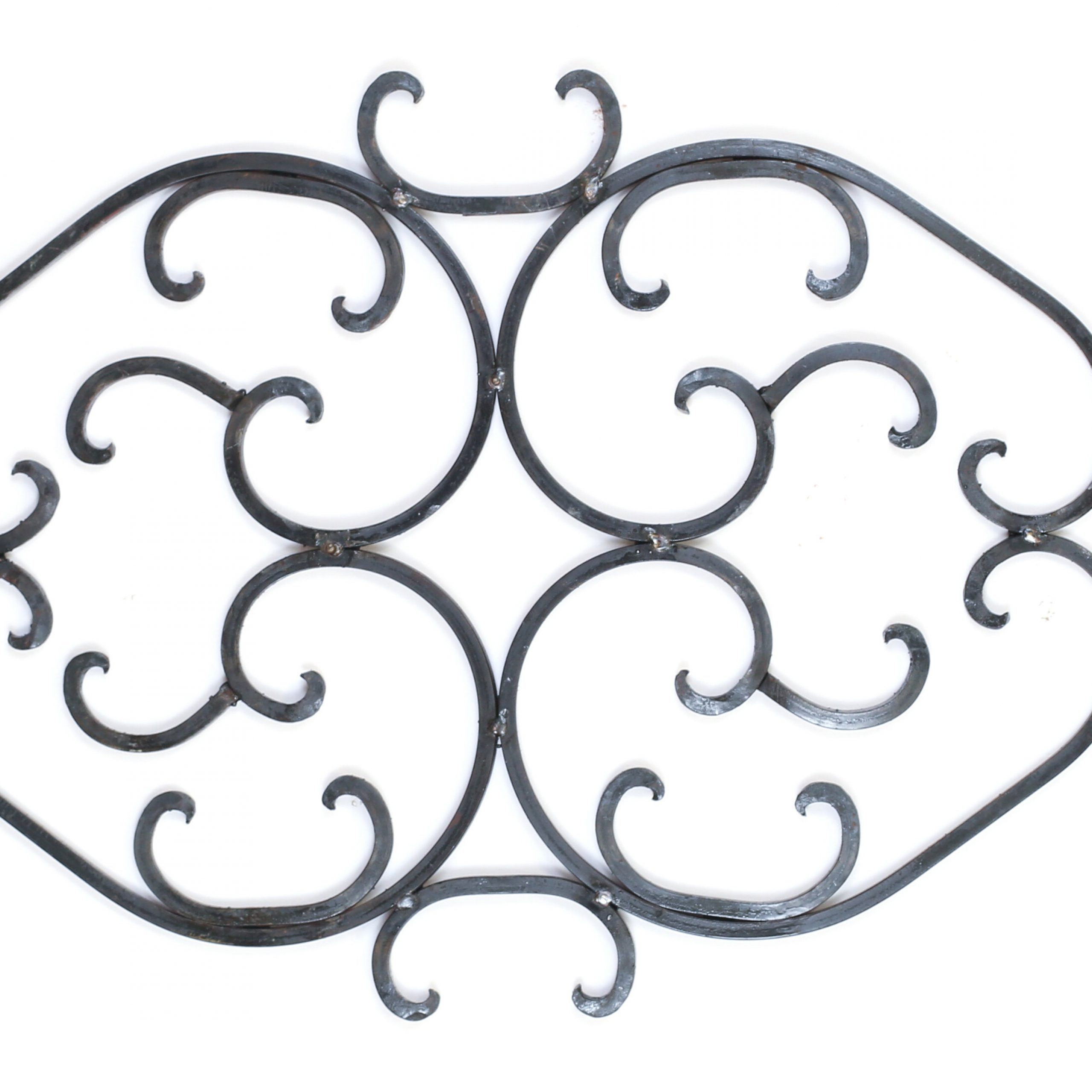 Widely Used Scroll Wall Décor By Fleur De Lis Living Pertaining To Heavy French Iron Scroll Wall Decor (View 3 of 20)