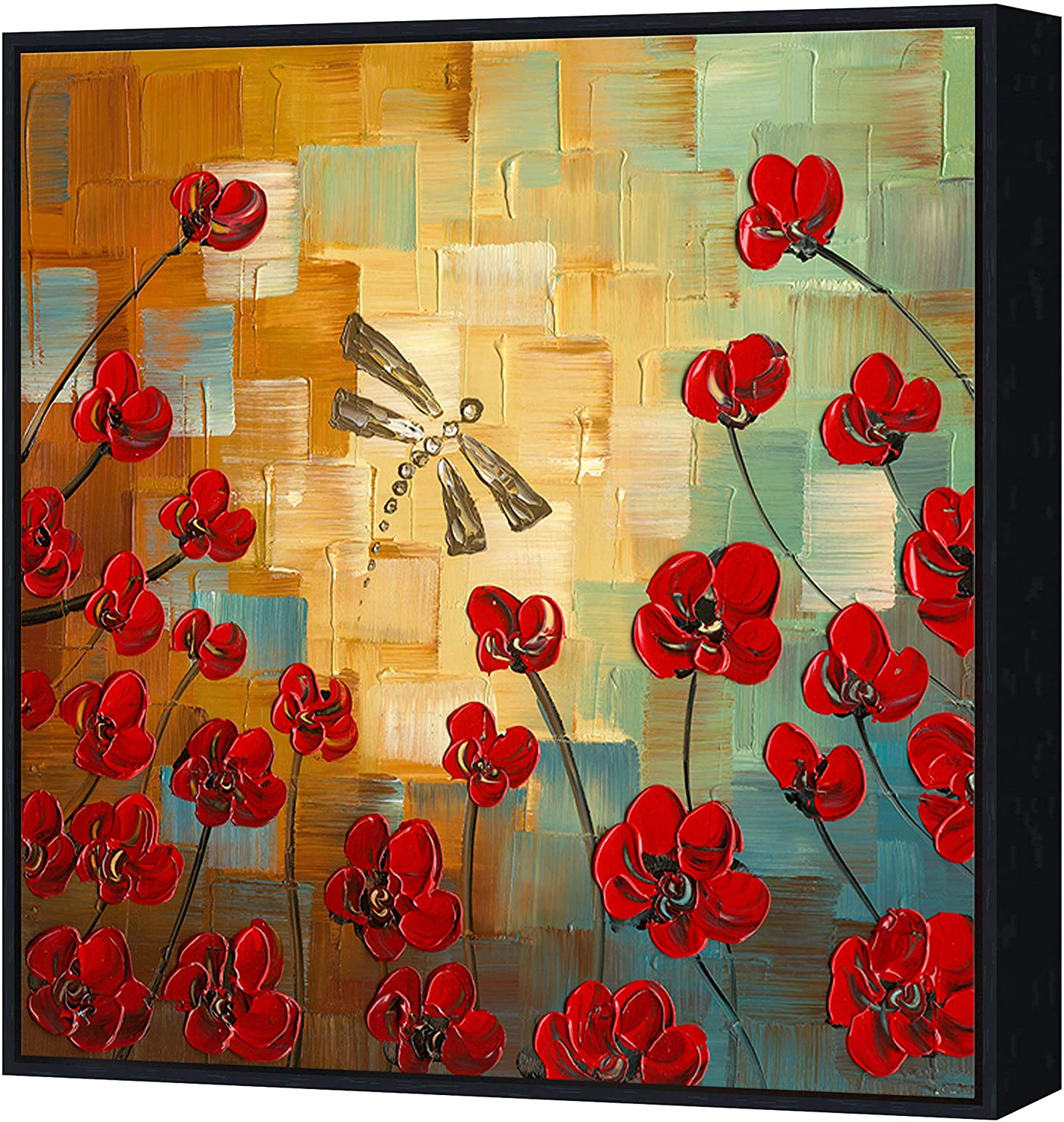 [%wieco Art Framed Art Dragonfly Floral Oil Paintings On Canvas Wall Art For Bedroom Home Decorations Modern 100% Hand Painted Stretched Abstract Throughout Most Up To Date Blended Fabric Poppy Red Wall Hangings|blended Fabric Poppy Red Wall Hangings Regarding 2019 Wieco Art Framed Art Dragonfly Floral Oil Paintings On Canvas Wall Art For Bedroom Home Decorations Modern 100% Hand Painted Stretched Abstract|most Recently Released Blended Fabric Poppy Red Wall Hangings Throughout Wieco Art Framed Art Dragonfly Floral Oil Paintings On Canvas Wall Art For Bedroom Home Decorations Modern 100% Hand Painted Stretched Abstract|favorite Wieco Art Framed Art Dragonfly Floral Oil Paintings On Canvas Wall Art For Bedroom Home Decorations Modern 100% Hand Painted Stretched Abstract Regarding Blended Fabric Poppy Red Wall Hangings%] (View 15 of 20)