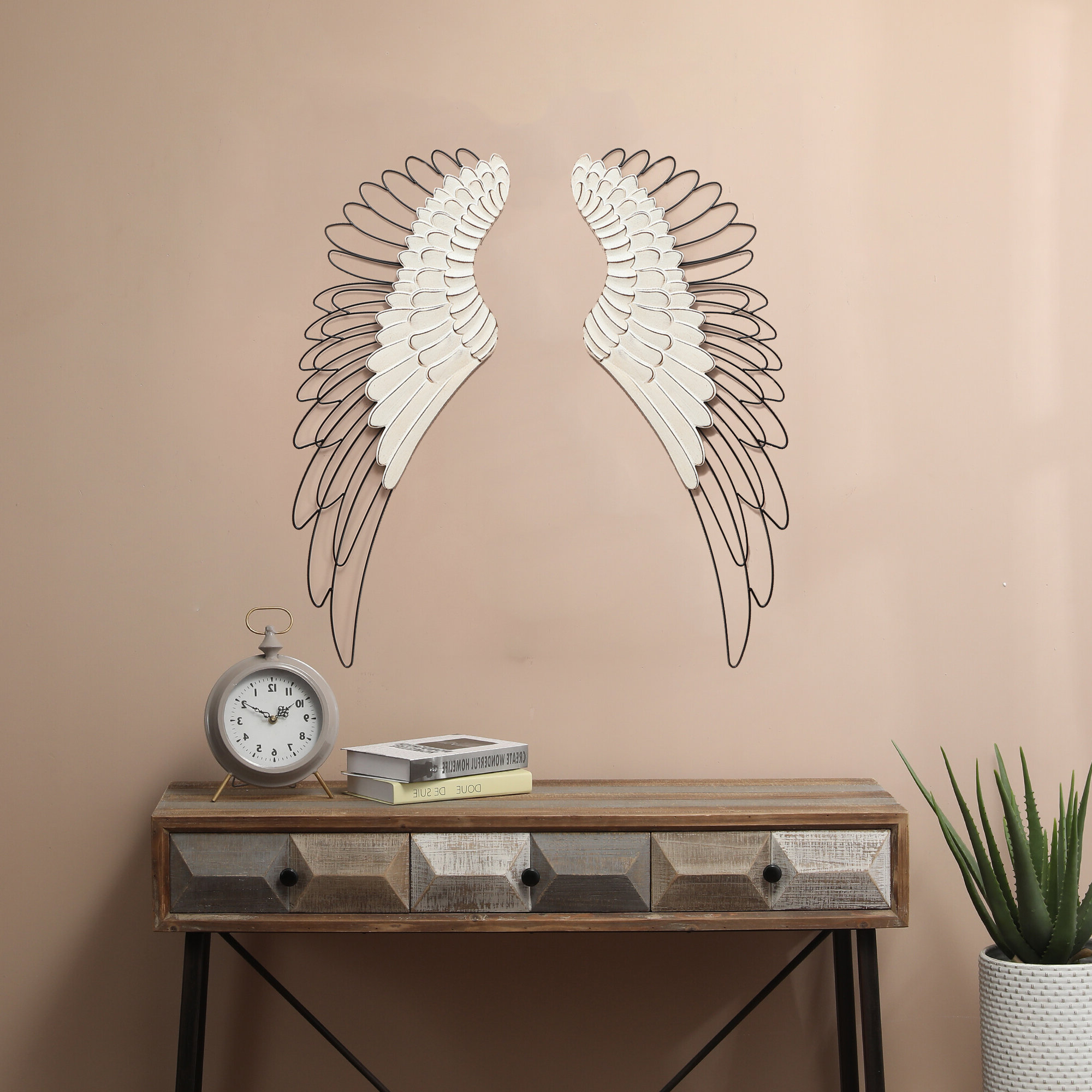 Featured Photo of Wing Wall Décor By One Allium Way