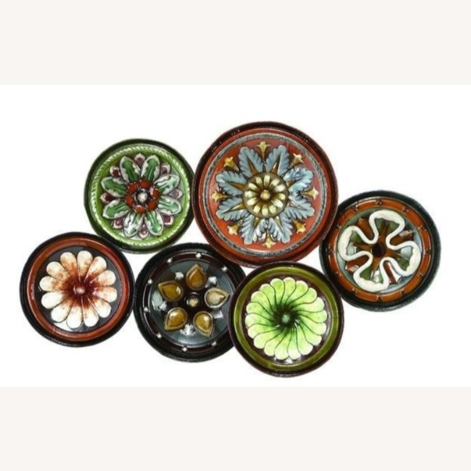 Wolrd Menagerie Multi Color Floral Plates Wall Decor Intended For Best And Newest Floral Plate Wall Décor By World Menagerie (View 11 of 20)