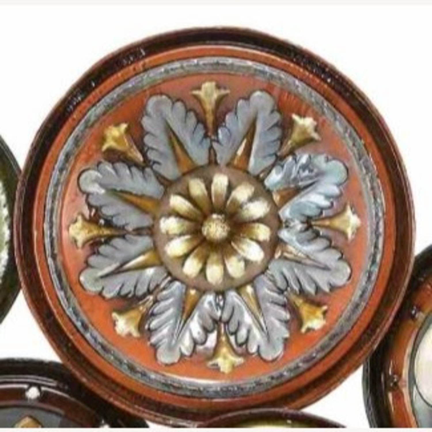 Wolrd Menagerie Multi Color Floral Plates Wall Decor With Regard To Fashionable Floral Plate Wall Décor By World Menagerie (View 18 of 20)
