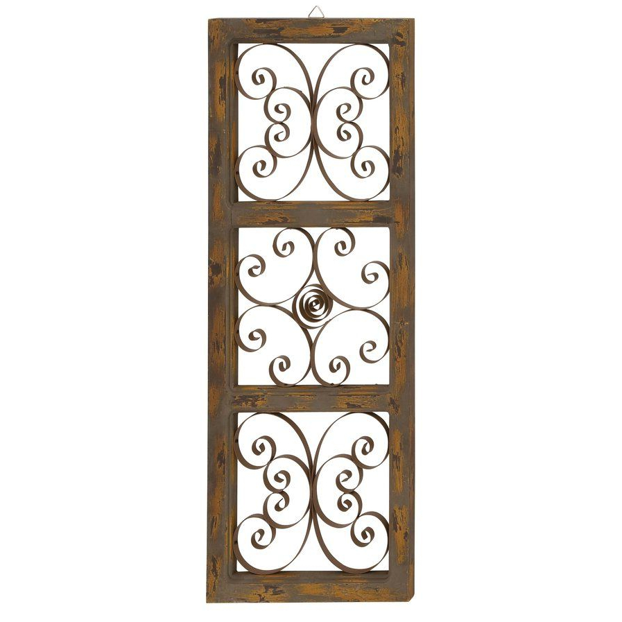Wood And Metal Wall Décor (View 8 of 20)