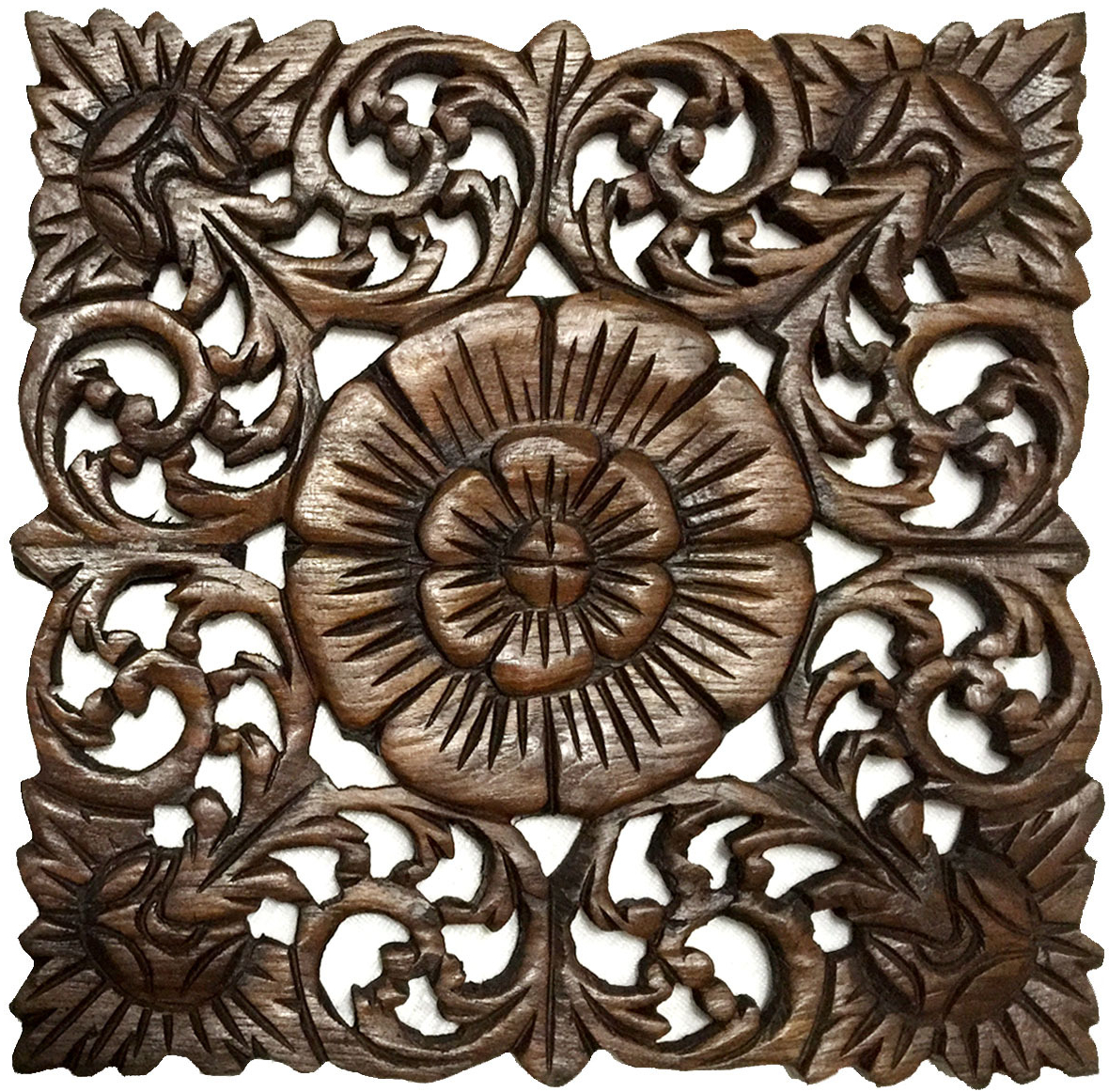 Wood Wall Plaque.square Wood Wall Art (View 13 of 20)