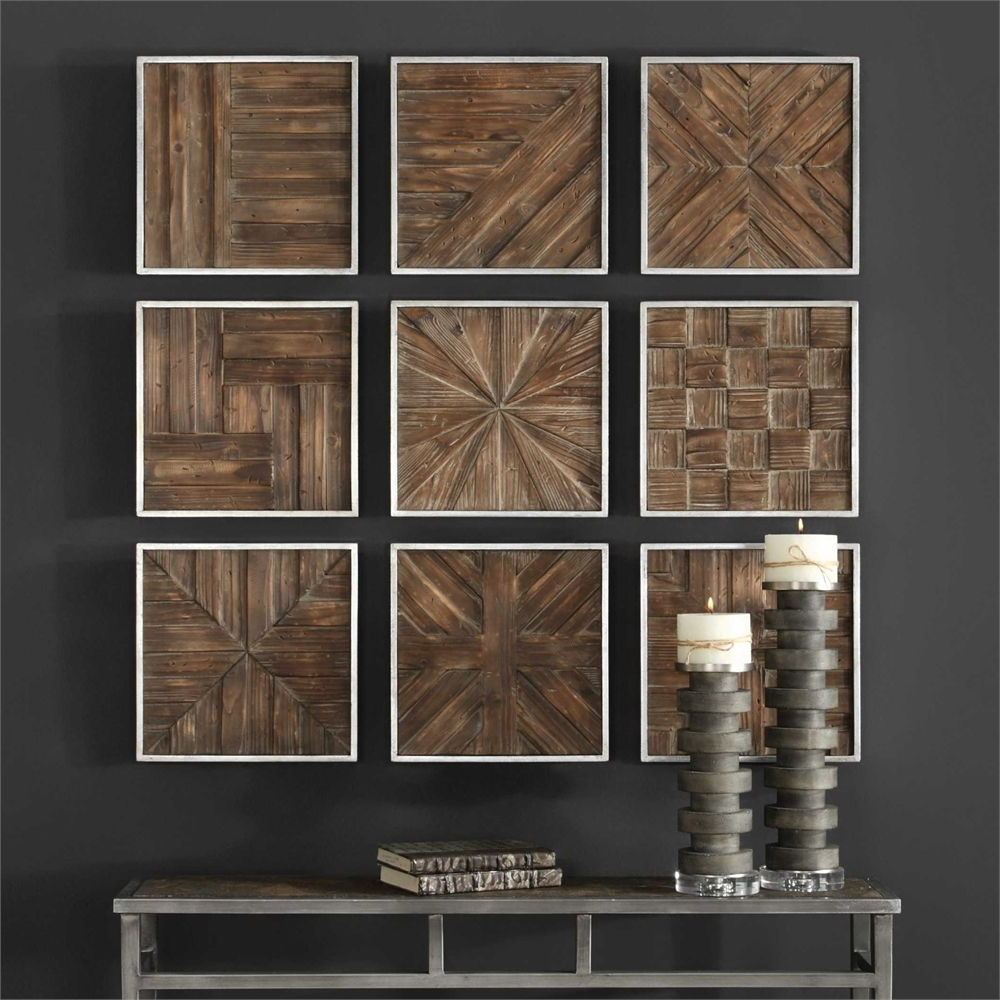 Wooden Wall Decor, Square (View 6 of 20)