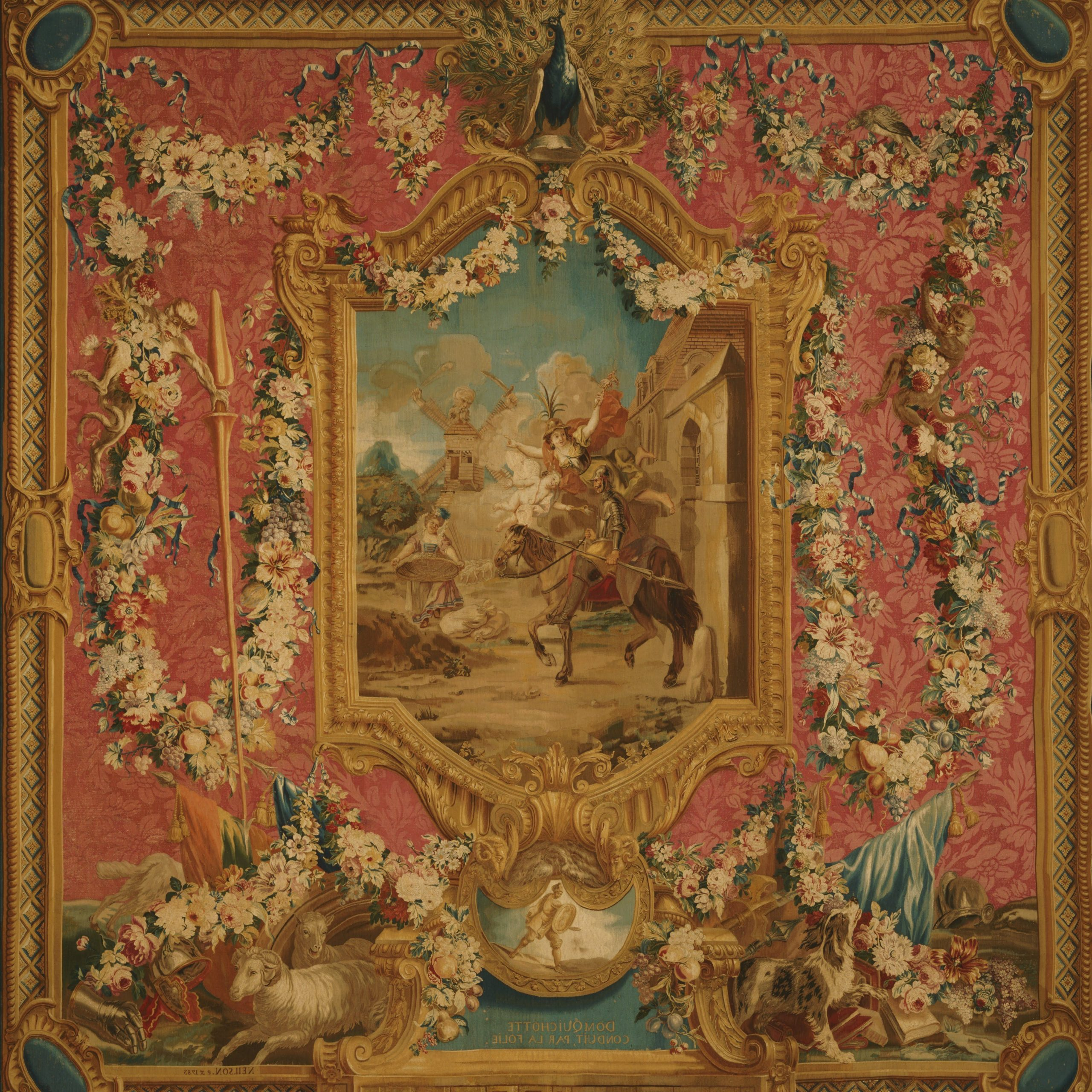 Woven At The Gobelins Tapestry Manufactory, Paris, 1699 With Regard To 2020 Grandes Armoiries I European Tapestries (View 7 of 20)