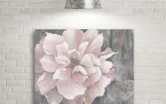 Pink and Grey Wall Art