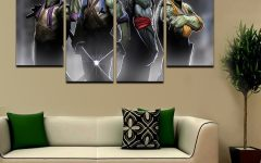 Ninja Turtle Wall Art
