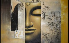 Abstract Buddha Wall Art
