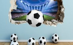 Football 3D Wall Art