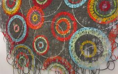 Abstract Textile Wall Art