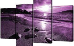 Purple Canvas Wall Art