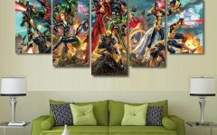 Marvel Canvas Wall Art
