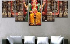 India Canvas Wall Art