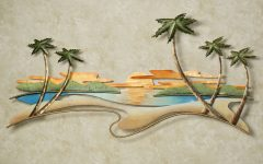 Caribbean Metal Wall Art