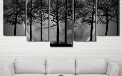 Grey and White Wall Art