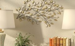 Blowing Leaves Wall Decor