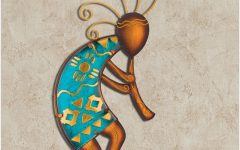 Kokopelli Metal Wall Art