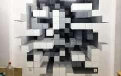 Cubes 3D Wall Art