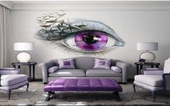 Bedroom 3d Wall Art