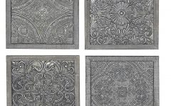 Melina Metal Medallion Wall Décor (set of 4)