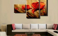 Abstract Canvas Wall Art Iii
