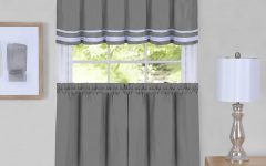 Dakota Window Curtain Tier Pair and Valance Sets