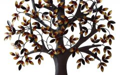Metal Wall Art Trees