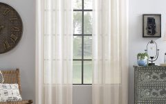 Archaeo Slub Textured Linen Blend Grommet Top Curtains