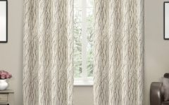 Oakdale Textured Linen Sheer Grommet Top Curtain Panel Pairs