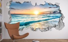 Beach 3d Wall Art