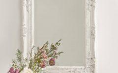 White Frame Wall Mirrors