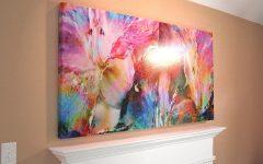 Abstract Floral Wall Art