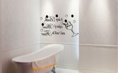 Contemporary Bathroom Wall Art