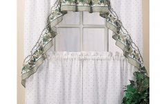 Cottage Ivy Curtain Tiers