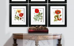 Framed Botanical Art Prints