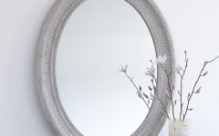 Large Oval Wall Mirrors